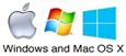 Windows and Mac OS X fonts